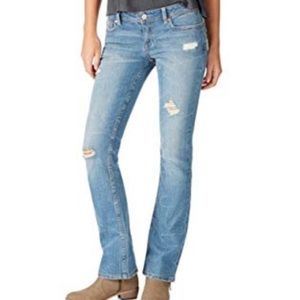 NWT Aeropostale Hailey Flare Distressed Jeans 4
